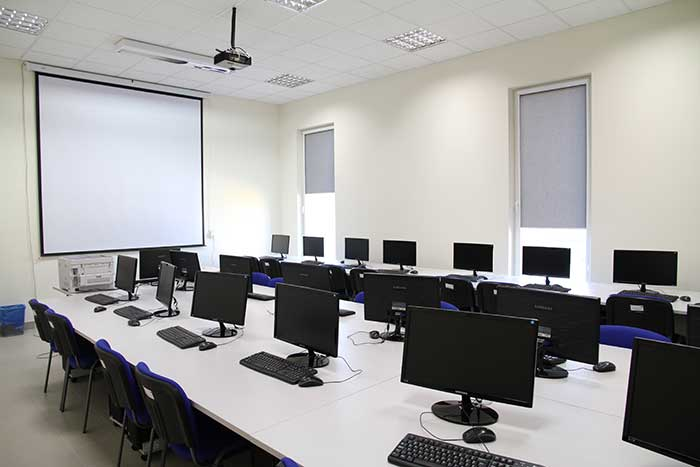 Architecture and Town Planning - Computer lab - Silesia province, Katowice