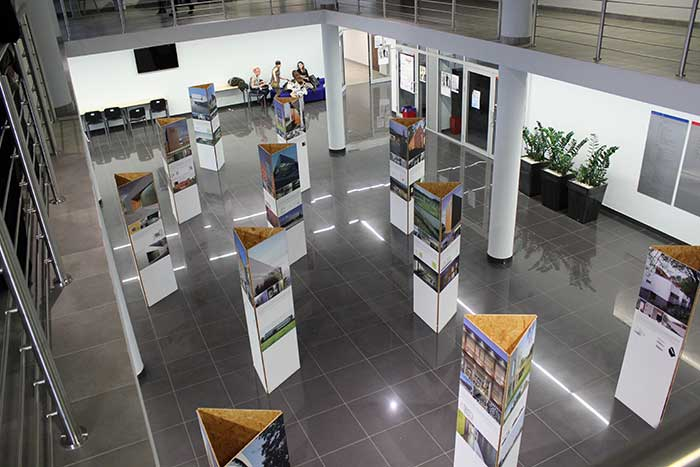 Architecture and Town Planning - Architecture exhibition at main hall - Silesia province, Katowice