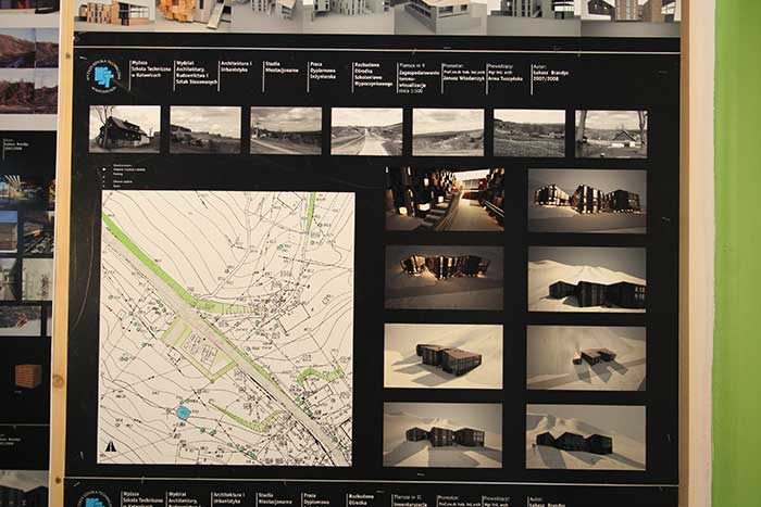 Architecture and Town Planning - Student work - Silesia province, Katowice