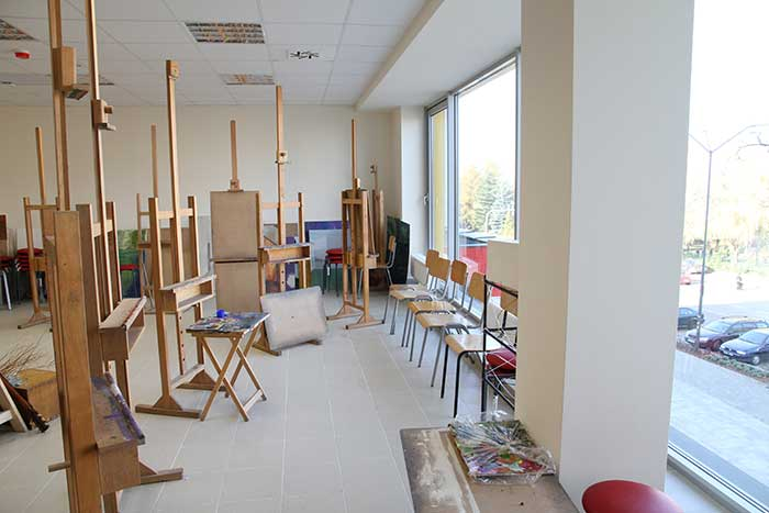 Interior Design - Drawing and Painting Workshop - Silesia province, Katowice
