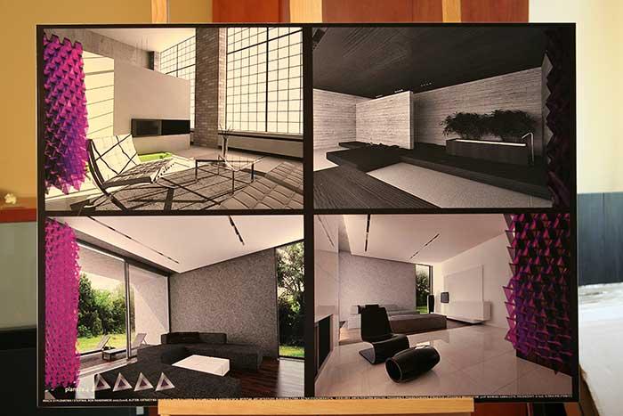 Interior Design - Student work - Silesia province, Katowice