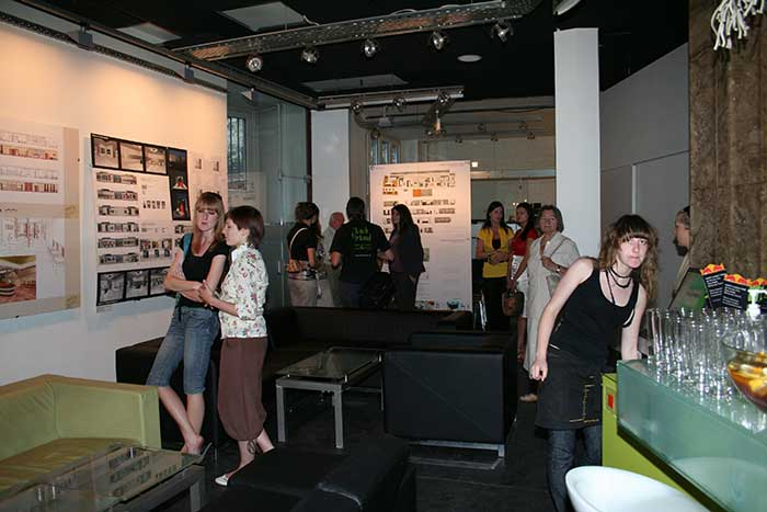 Interior Design - Opening of an exhibition of Interior Design in Archibar club - Silesia province, Katowice