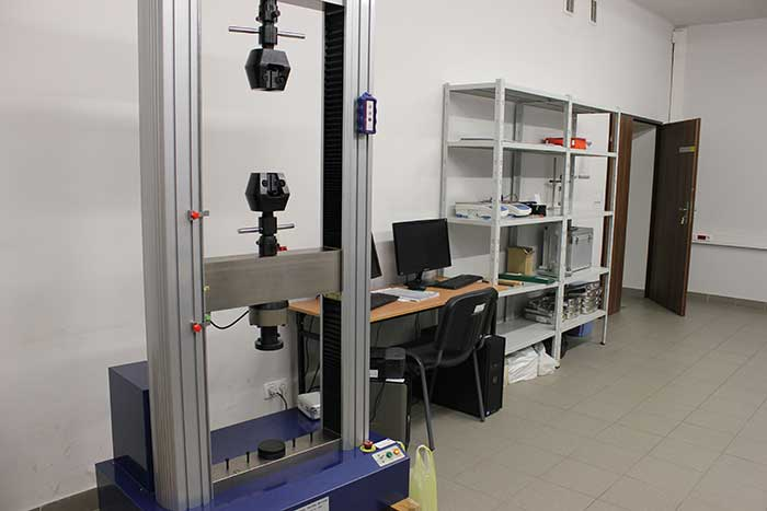 Civil Construction - Strength of Materials Laboratory - Silesia province, Katowice