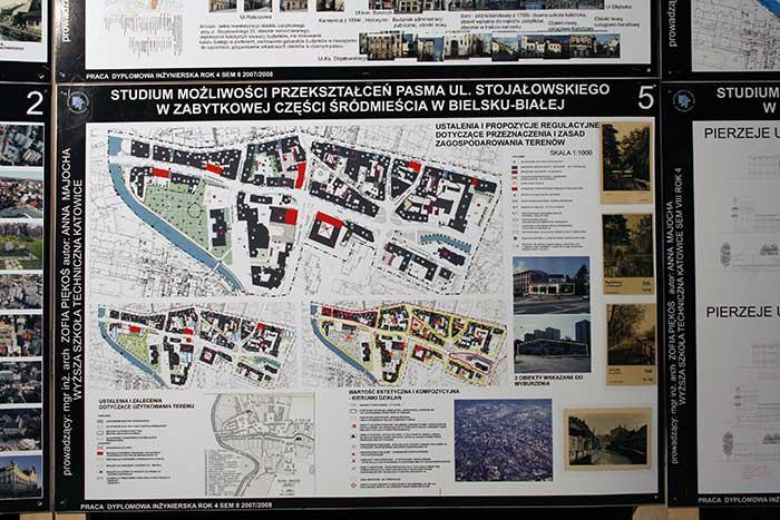 Spatial Development - Student work - Silesia province, Katowice