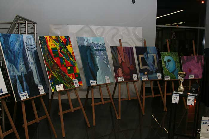 Graphics - Painting exhibition and charity auction - Silesia province, Katowice