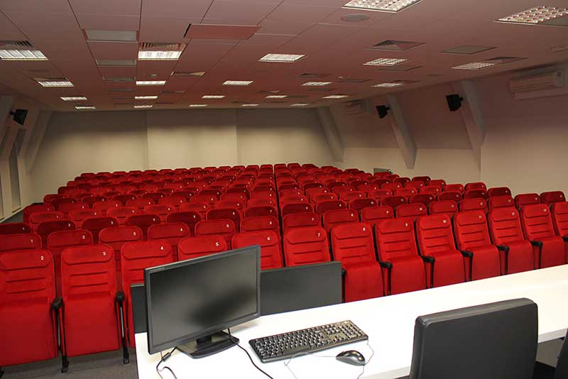 Main lecture hall of Faculty of Media, Acting and Directing - Śląsk - Zabrze
